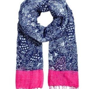 Lilly Pulitzer + TARGET UPSTREAM scarf Blue